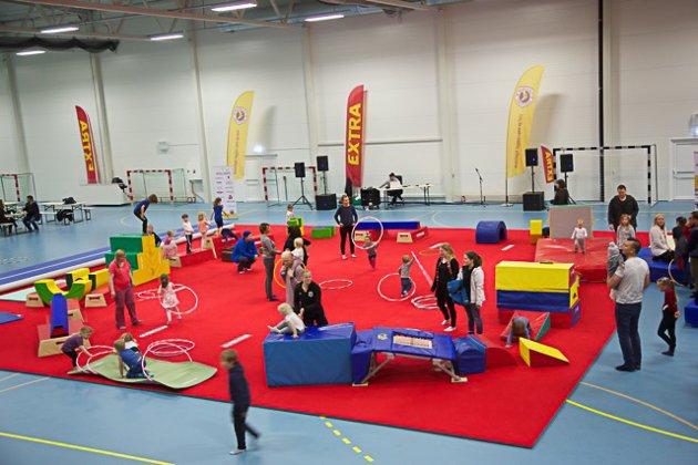 Turnsportens dag i Kabelvåg.