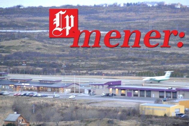 Vil ta grep raskt: Vestvågøy næringsforum mener det må jobbes med utvidelse av Leknes lufthavn raskt.