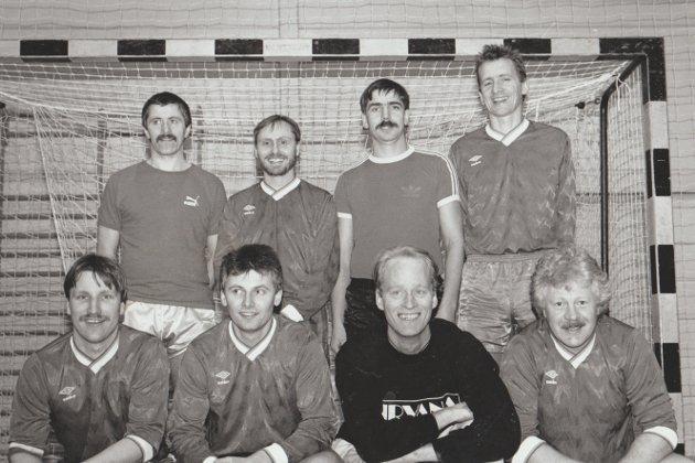Borga ble mestere da bedriftslagene møttes til cupspill i februar 1994.