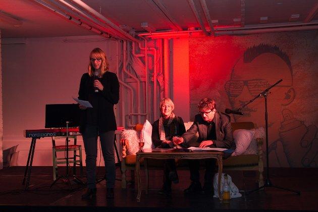 Poesi, fortellinger og sang sto på programmet da Heidi Berg Kjuus og Stein Erik Sagvolden sto på scenen i Kulturkvartalet.