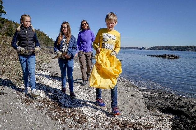 Marin forsøpling - prosjekt på Reier skole.