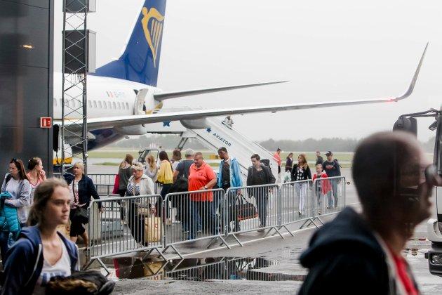 Moss lufthavn Rygge ble lagt ned i månedsskiftet oktober/ november 2016.