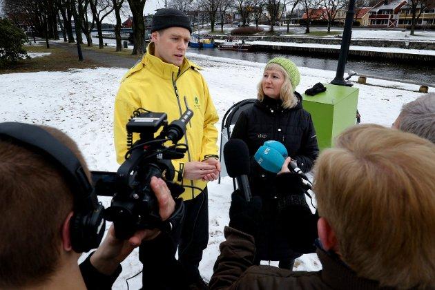 KAMPKLAR: Benedicte Lund (MDG) fortsetter kampen for syklistene over Kanalbrua.