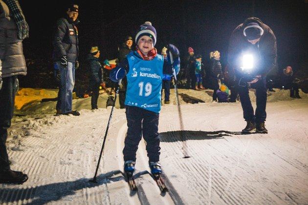 Telenorkarusellen 2019 Mossemarka, skrenn, Norødegården. Moss skiklubb