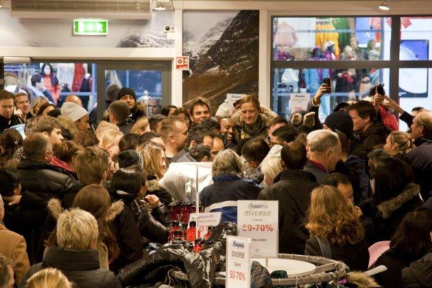 Kjøpefest: Den siste fredagen i november.
