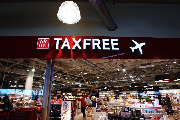 Taxfree-butikken på Moss Lufthavn Rygge (MLR), 2011.
