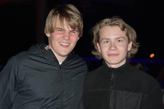 Jakob og Eirik.