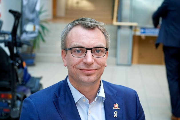 Terje Settenøy, varaordfører i Nærøysund.