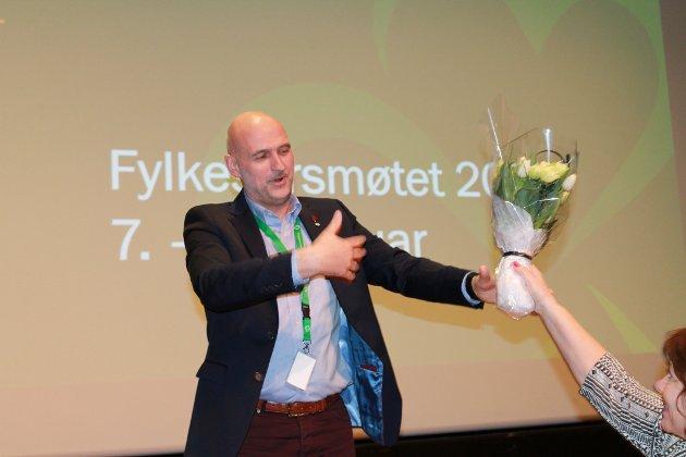 STEMMESANKER: Per Olav Tyldum ble valgt til ordfører for første gang etter lokalvalget i 2011. Ti år senere kan lederen i Trøndelag Sp havne på Stortinget. Han kan sanke mange stemmer på tvers av partigrensene i Namdalen, skriver NA på lederplass.
