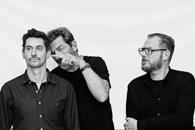 Carsten Dahl omgitt av Stefan Pasborg og Nils Bo Davidsen - hvilken trio!