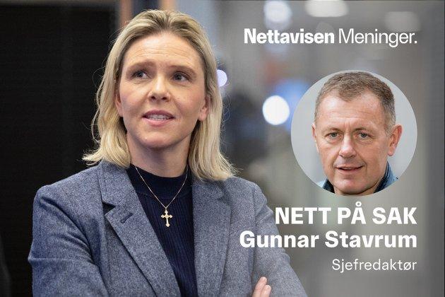 PARTILEDER: Sylvi Listhaug blir etter alt å dømme Fremskrittspartiets neste partileder.