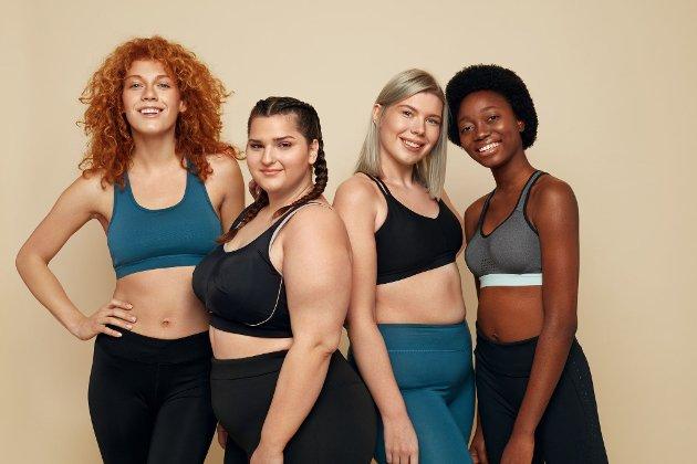 Budskapet til kroppspositivistene er at alle fortjener å føle seg sexy, men paradoksalt nok er de like opptatt av kropp og utseende som de glossy bloggerne, skriver debattforfatter. (Illustrasjonsfoto)