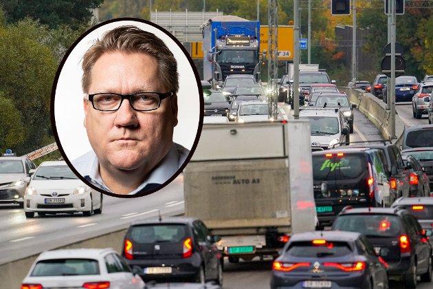 STØY: Støyen fra E6 gjennom Manglerud er en uutholdelig og uforsvarlig, skriver politisk redaktør Eirik Mosveen i denne kommentaren.