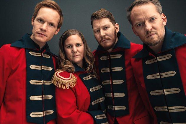 Magnus Sefaniassen Eide, Ellen Brekken, Magnus Bakken og Espen Berg - A Tonic for the Troops - gir oss noe viktig akkurat nå.