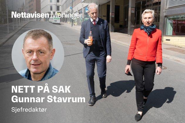 BYTTEHANDEL: Ap-leder Jonas Gahr Støre får millioner i valgkampstøtte fra LO-leder Peggy Hessen Følsvik. Til gjengjeld krever LO 860 millioner kroner i skattelette for sine medlemmer.