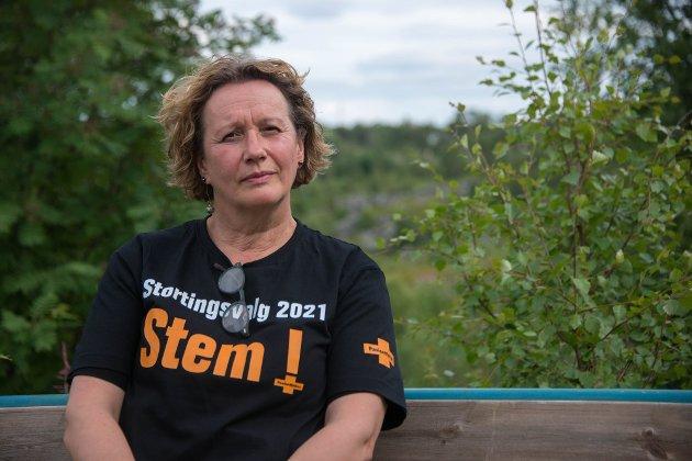 FIKK STORTINGSPLASS: – Gratulerer til Irene Ojala og hennes utrettelige medarbeidere med strålende måloppnåelse kronet med seier og stortingsplass, skriver Svein Aasegg.