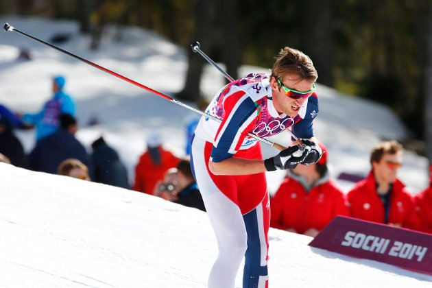 Petter Northug ikke var så verst til å gå på ski. Det holder vel for selvfølelsen i en 20 år – til neste gang det er ski-VM eller OL her, skriver Terje Kilen. Bildet viser Northug på 5-mila under OL i Sotsji i 2014.