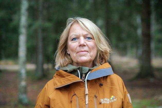 Bilder av generalsekretær Bente Lier. Bilder fra Sognsvann
