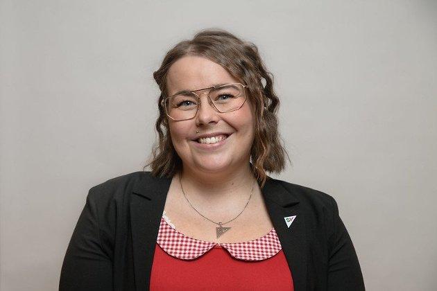 Katrine Boel Gregussen, fylkestingsrepresentant for Troms og Finnmark SV.