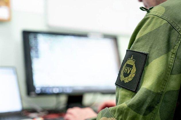 UiT godtok ikke at ansatte eller studenter stilte i Heimevernets uniform. Foto: FORSVARET