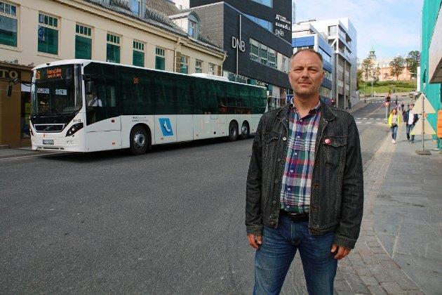 DISTRIKTSPOLITIKK: SVs gruppeleder i Tromsø vil flytte kommunale arbeidsplasser ut av sentrum. Foto: Inger Prestæng Thuen