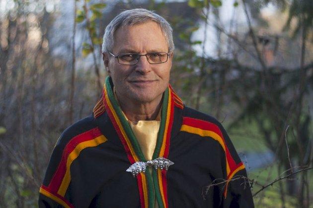 Eirik Myrhaug Partapuoli, elder i Arktisk Sjamansirkelråd.