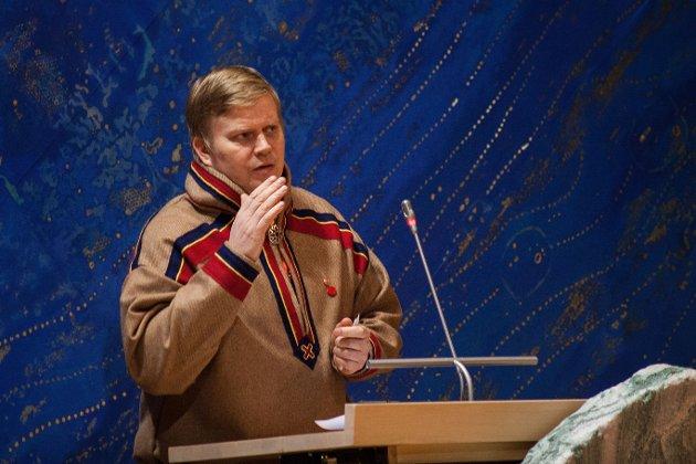 Ronny Wilhelmsen er skuffet over Sametingsrådet.