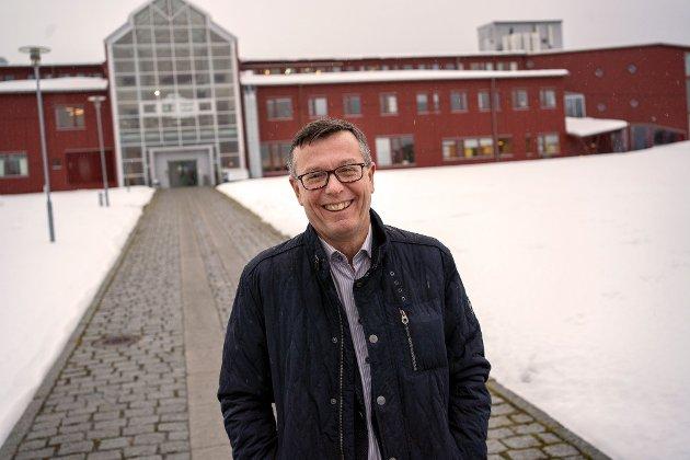Dag Rune Olsen, påtroppende rektor ved Universitetet i Tromsø.