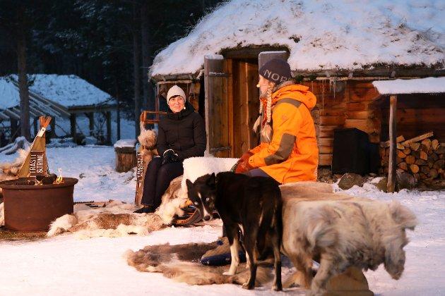 Utenriksminister Ine Eriksen Søreide på arrangementet i Alta, der stortingsmeldingen om nordområdene ble lansert 27. november i fjor.