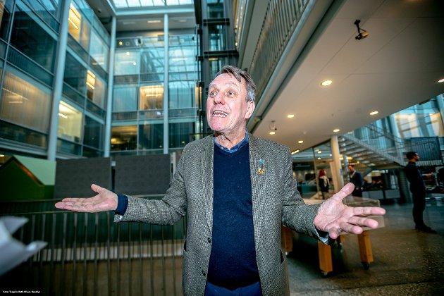 Ordfører Gunnar Wilhelmsen legger entusiastisk ut om planene for kommunen de neste to årene. Han sier det gode årsresultatet gir handlingsrom for nye tiltak.