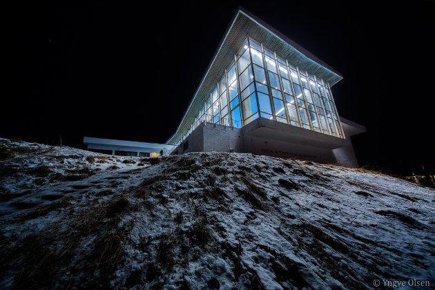 IKONISK: Alfheim svømmehall er regnet som et av Tromsøs mest kjente landemerker. Den skal bevares som et av de mest vellykkede eksemplene på en svømmehall fra den såkalte etterkrigsmodernismen. Noen mener det er den viktigste bygningen i sitt slag.