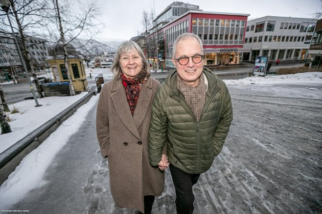 Gründerne Marit Mydland og Vidleiv Johansen står bak en viktig storsatsing i Karlsøy kommune.