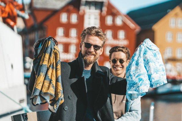 Kronikkforfatterne: Andreas Joki Arild og Erik Stange Ankre