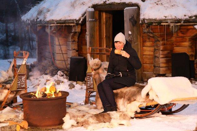 Alta 27. november 2020: Utenriksminister Ine Eriksen Søreide deltar på et arrangement der stortingsmeldingen om nordområdene ble lansert.