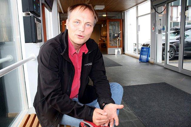Pål Julius Skogholt, gruppeleiar i SV i Tromsø kommunestyre.