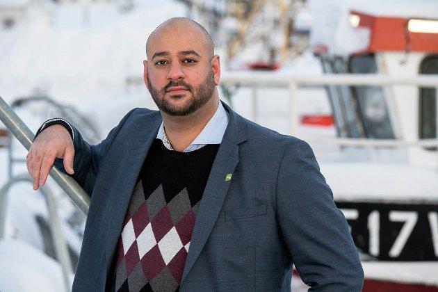 Farid Shariati, 1. kandidat for Miljøpartiet De Grønne i Finnmark.