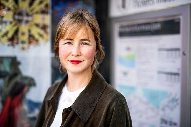 Anja Bakken Riise, leder for Framtiden i våre hender