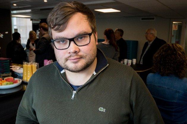 Tarjei Jensen Bech, fylkesvaraordfører (Ap) i Troms og Finnmark og overlevende fra Utøya