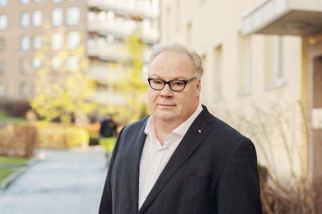 Bård Folke Fredriksen, adm. dir. i NBBL