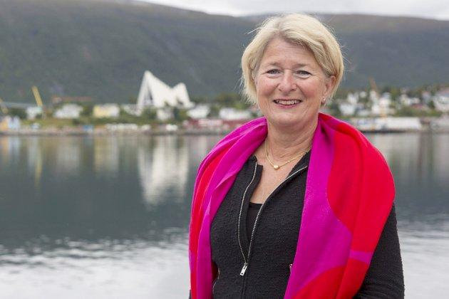 Avtroppende UiT-rektor Anne Husebekk.