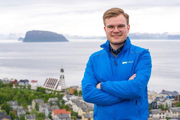 SVARER NORDLYS: Det er min plikt som ung i dag, å stille kritiske spørsmål til de som ønsker å bruke opp arven til kommende generasjoner, skriver Vetle Langedahl, Høyres førstekandidat i Finnmark, i dette tilsvaret til en lederartikkel i Nordlys. Foto: Høyre