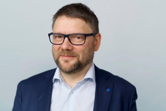 Jonny Berfjord, styreleder i Fiskebåt - havfiskeflåtens organisasjon.