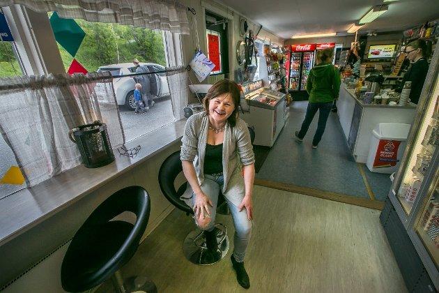 LYKKENS STED: Isaksens kiosk har fått legendestatus i tippemiljøet, etter å ha skapt flere lottomillionærer.