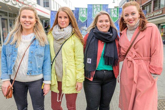 Charlotte Tiller, Maren Borch, Hilde Andreassen og Birgitte Tiller.