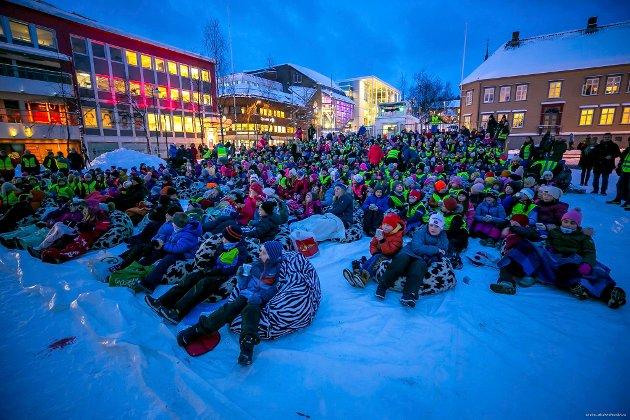 TIFF 2019: Slik så det ut på Stortorget under TIFF i 2019.