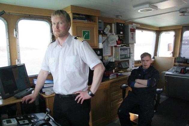 Bjørklids Ferjerederi tapte anbudet om passasjertrafikk over Lyngen og Ullsfjord.   Skipper Daniel Fagerborg og lærling Dan Asle Borch.  ALNK: TRIVES: Skipper Daniel Fagerborg og lærling Dan As * 220100427003554010 PLNK: NLY11NLY10042216T00 * 220100427003552000 BLNK: Ferge2 * 220100427003553062 IPTC:Record Version = 2   By-line = Ragnhild Enoksen    Object Name = Bjørklids Ferjerederi tapte anbud LNNR:220100427003553027 Nordlys 20100422 horizontal DPI_178x178 Ferge1 Nyheter Nordlys × 20100422 × Nyheter × 16 × Version2 ×  ×