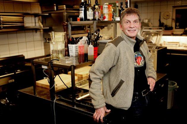 HERR NILSEN: Restauratør Odd Nilsen var i mange år selveste Herr Compagniet. Her fra et besøk i 2008.
