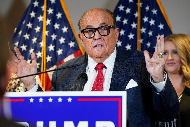 Trumps advokat Rudy Giuliani skjemmer stadig vekk ut både seg selv, sin president og supermakten USA.