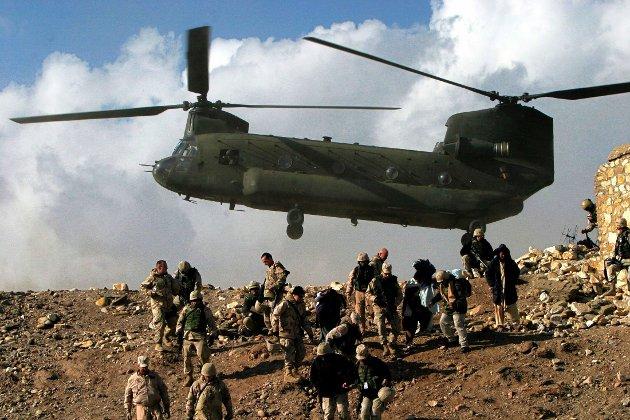 Illustrasjonsfoto fra Afghanistan