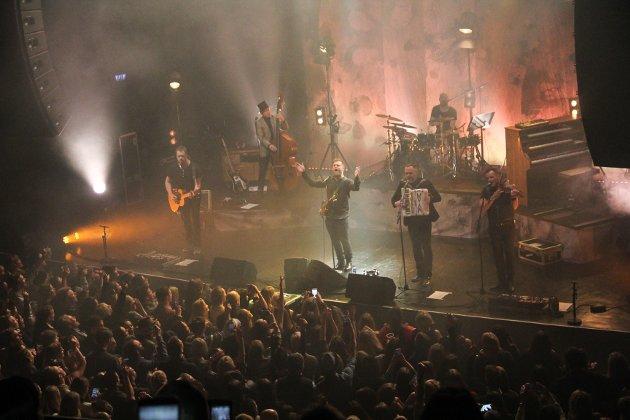 STORSTUA: Stor stas for band og publikum da Staut 14. januar fylte Sentrum Scene i Oslo til randen.